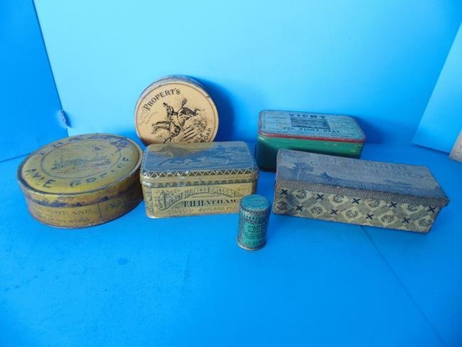 Harness Dressing & Saddle Soap Tins
