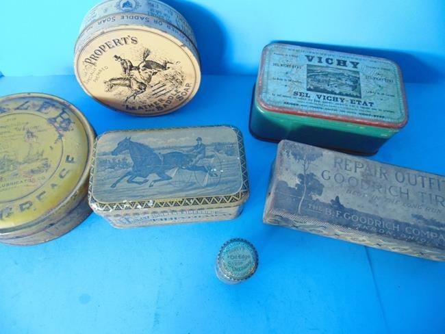 Harness Dressing & Saddle Soap Tins - 2