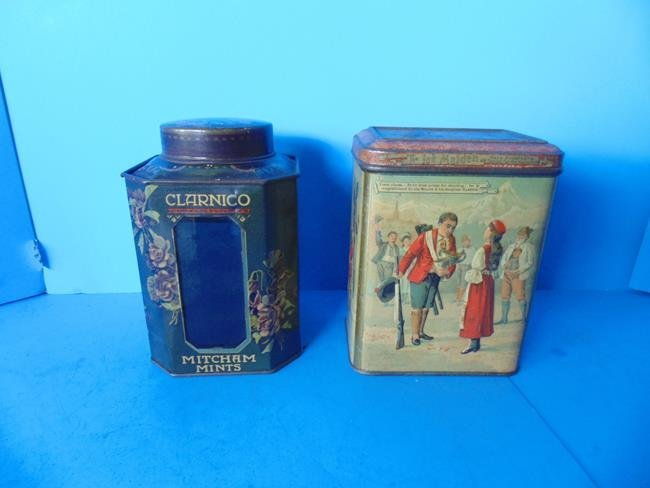Pharmacy Display Tin & Carr Biscuit Tin