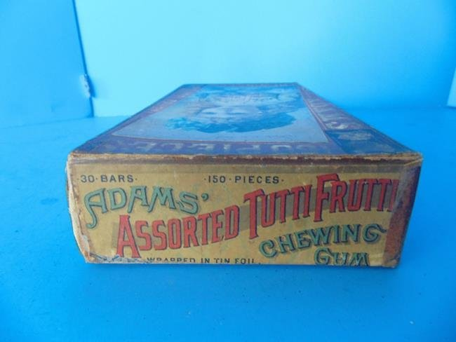 Adams Chewing Gum Box - 2