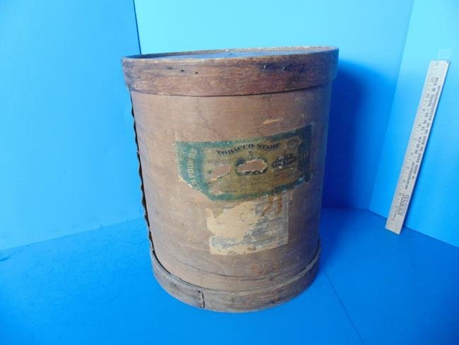 Wood Tobacco Barrel