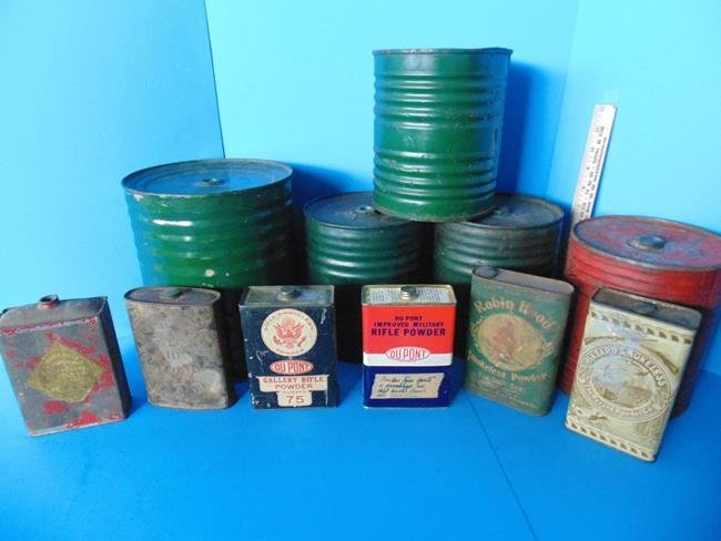 Powder Tins