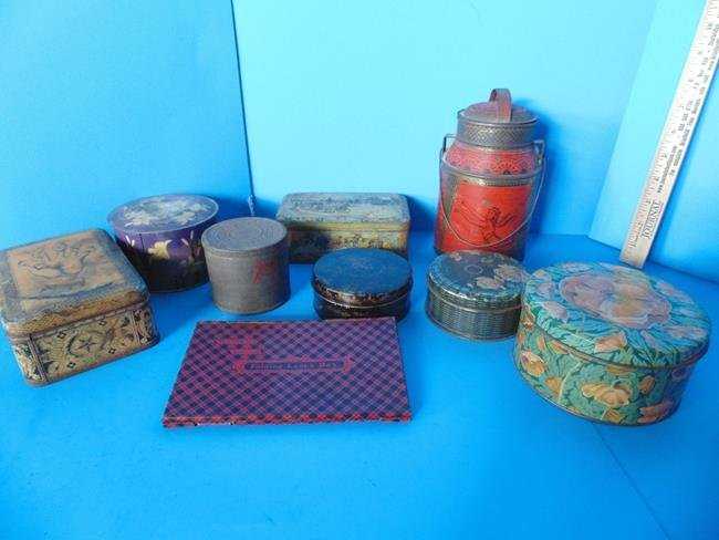 Group of Assorted Tins