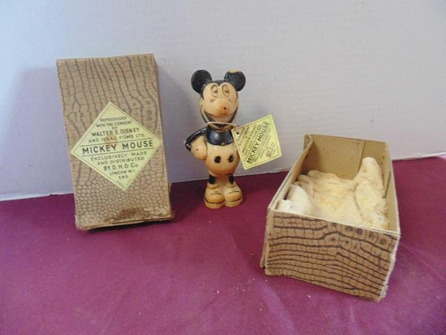 Mickey Mouse Soap Figure in Box
