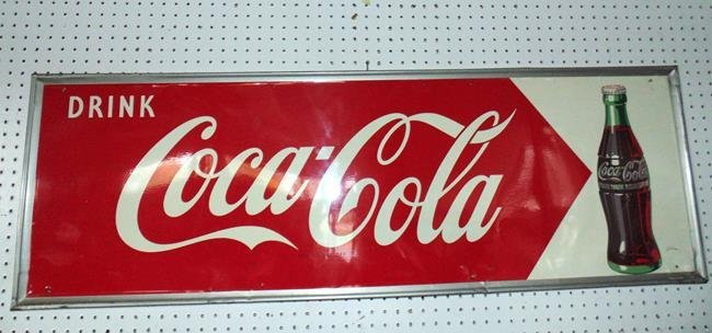 Coca Cola Metal Sign
