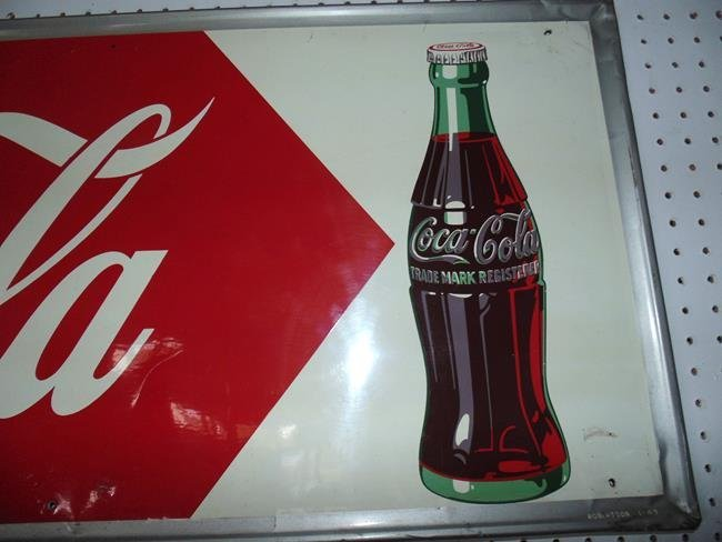 Coca Cola Metal Sign - 2