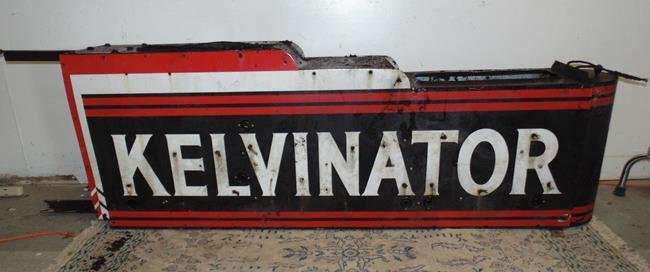 Kelvinator Double Sided Sign