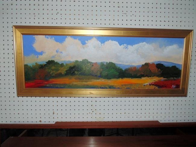 Painting Signed Grabowski