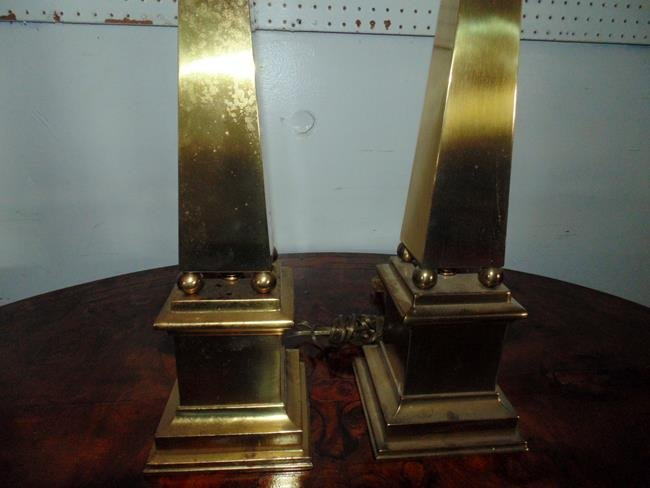 Hanson Brass Table Lamps - 2