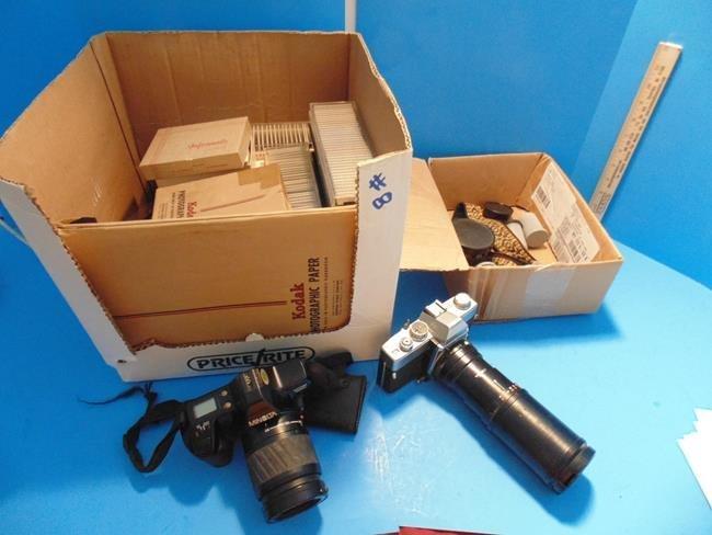 Cameras, Slides & Film