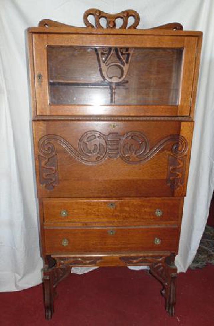 Oak Cowboy Desk