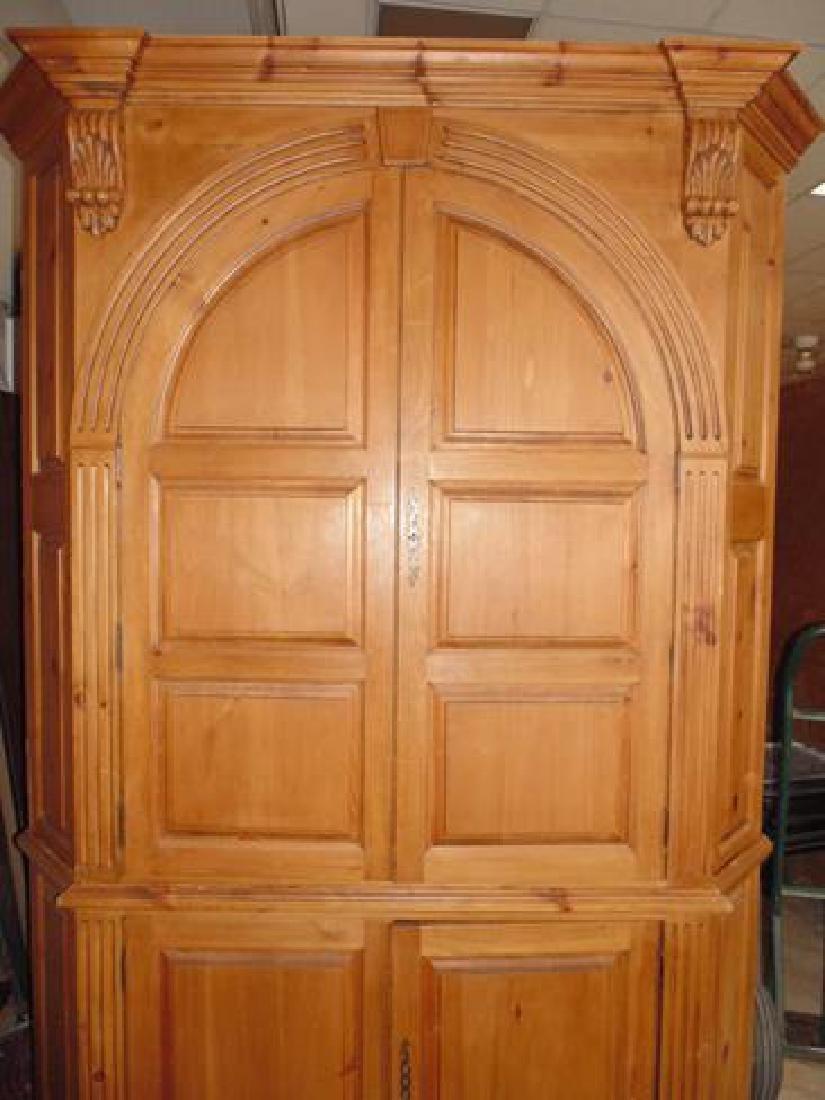 Double Door Corner Cabinet
