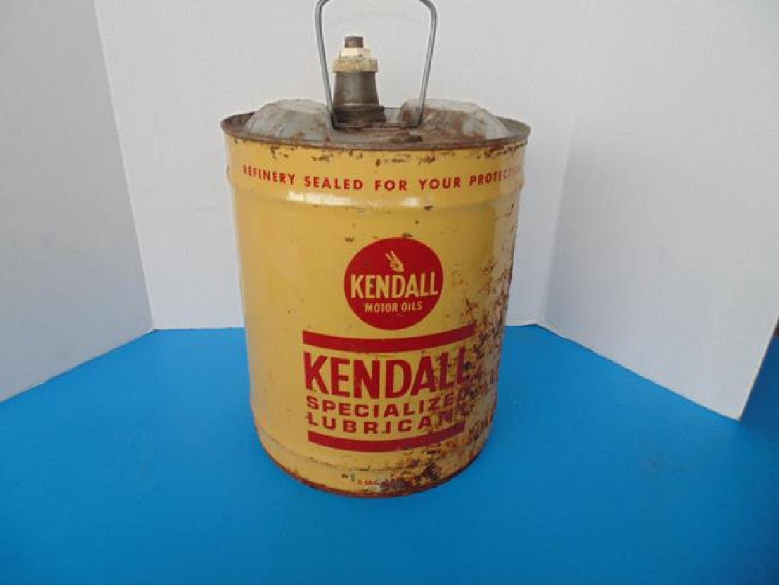 Kendall Oil Can