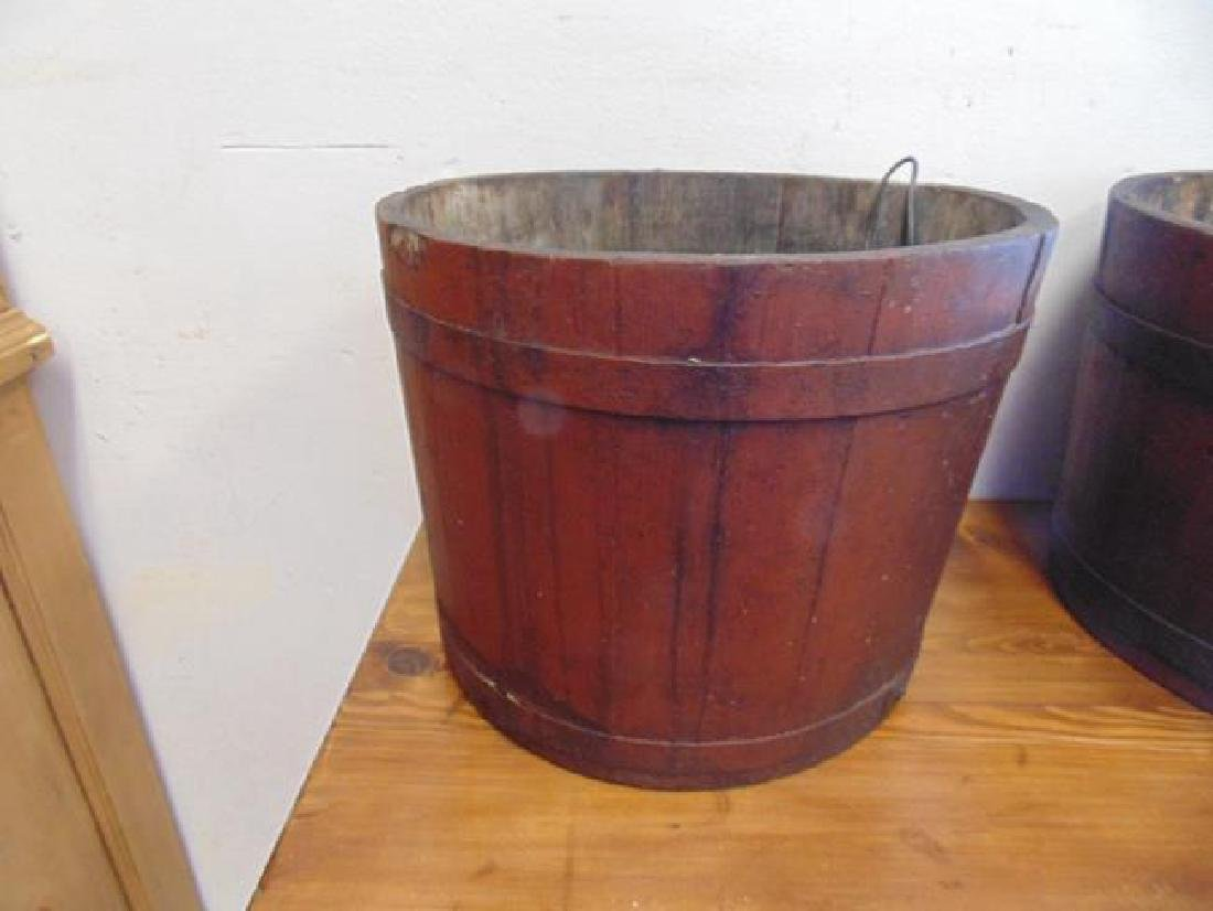 Adirondack Wood Sap Bucket