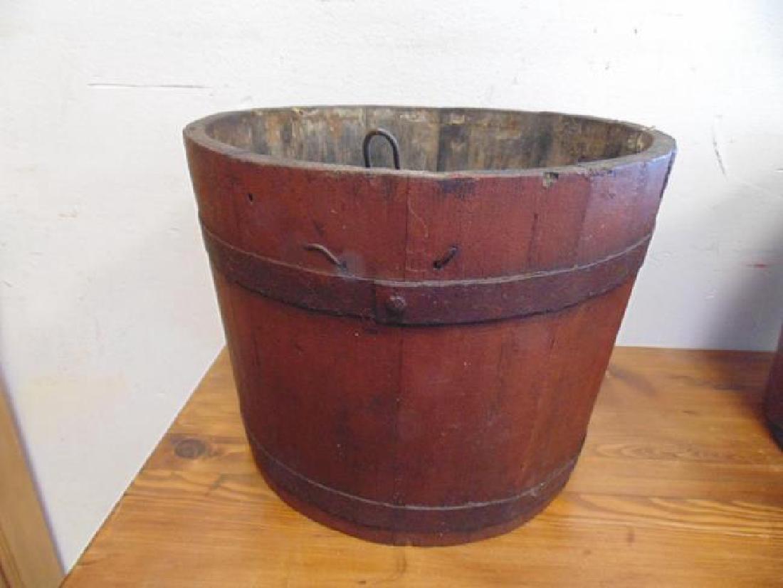 Adirondack Wood Sap Bucket