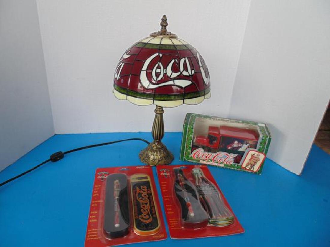 Coke Lamp & Coca Cola Items