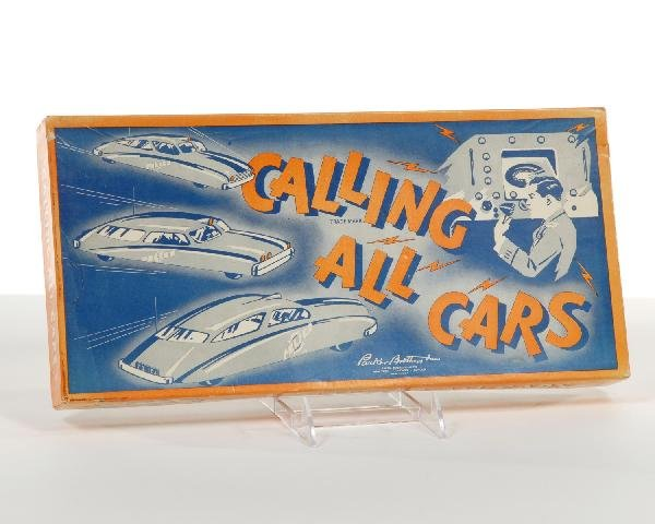 6: Calling All Cars game with original box