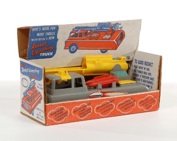 7: Ideal rocket launching truck with original box
