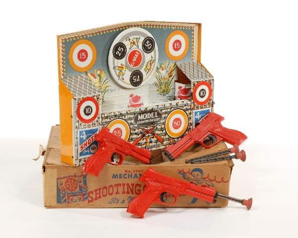 8: Model Shooting Gallery game, 3907, Wyandotte, with o