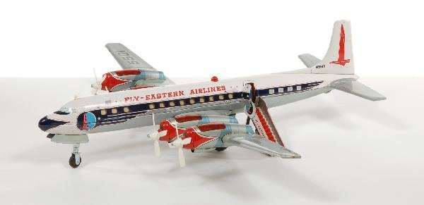 18: Eastern Airlines 4 engine airplane with original bo