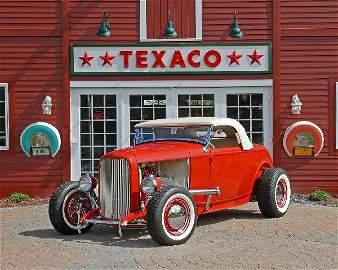"95: 1932 Ford Deuce Highboy roadster custom built, ""Scu"