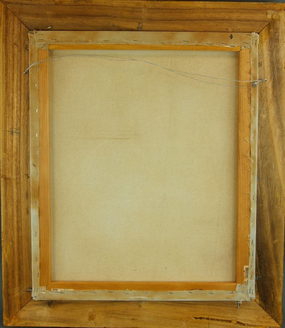 European Gilt Oil Painting On Canvas With Frame - 4