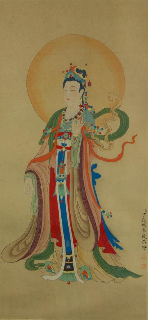 Ding Guanpeng 1708-1711 Watercolour on Paper