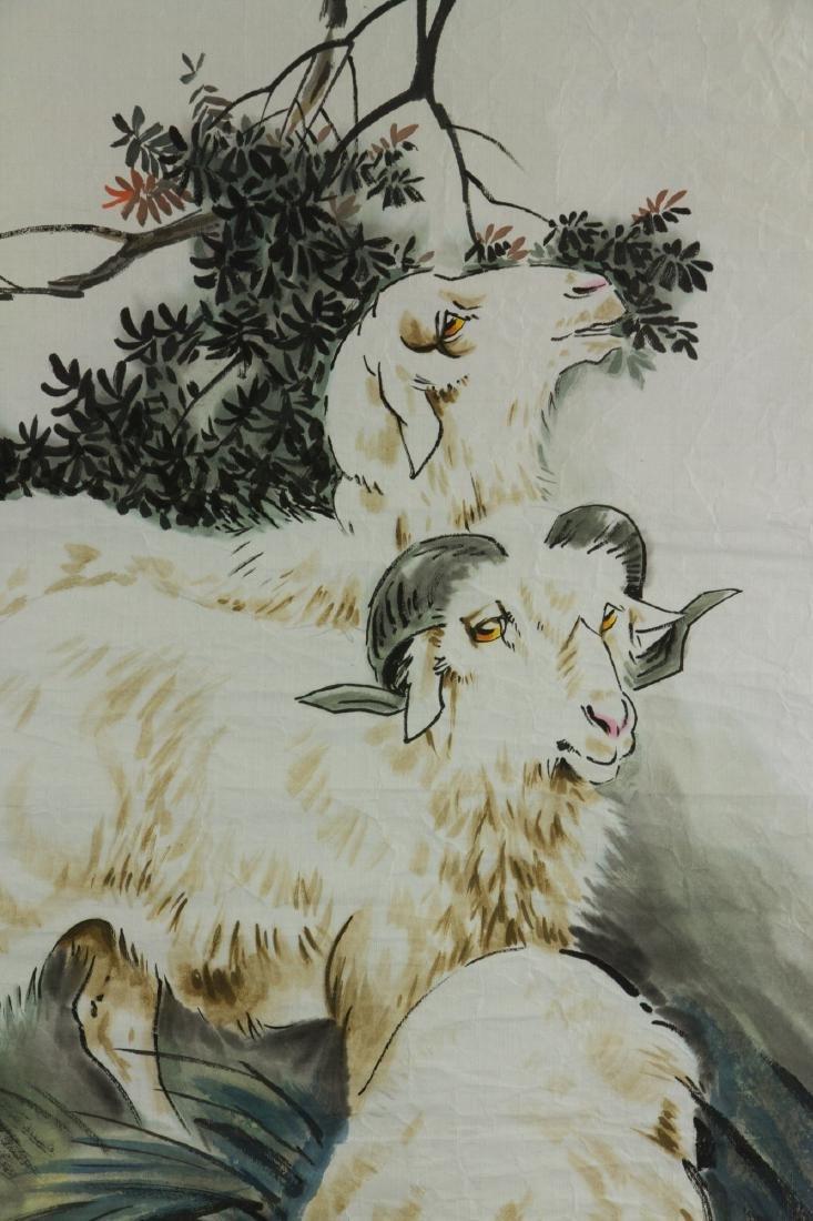 Liu Jilu 1918-1983 Watercolour on Paper - 3