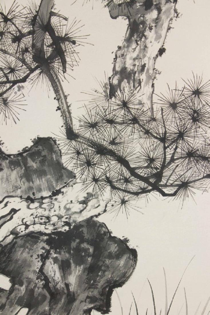 Wu Hufan 1894-1968 Chinese Ink on Paper Scroll - 4