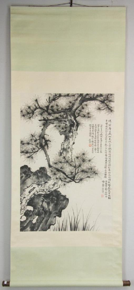 Wu Hufan 1894-1968 Chinese Ink on Paper Scroll - 5