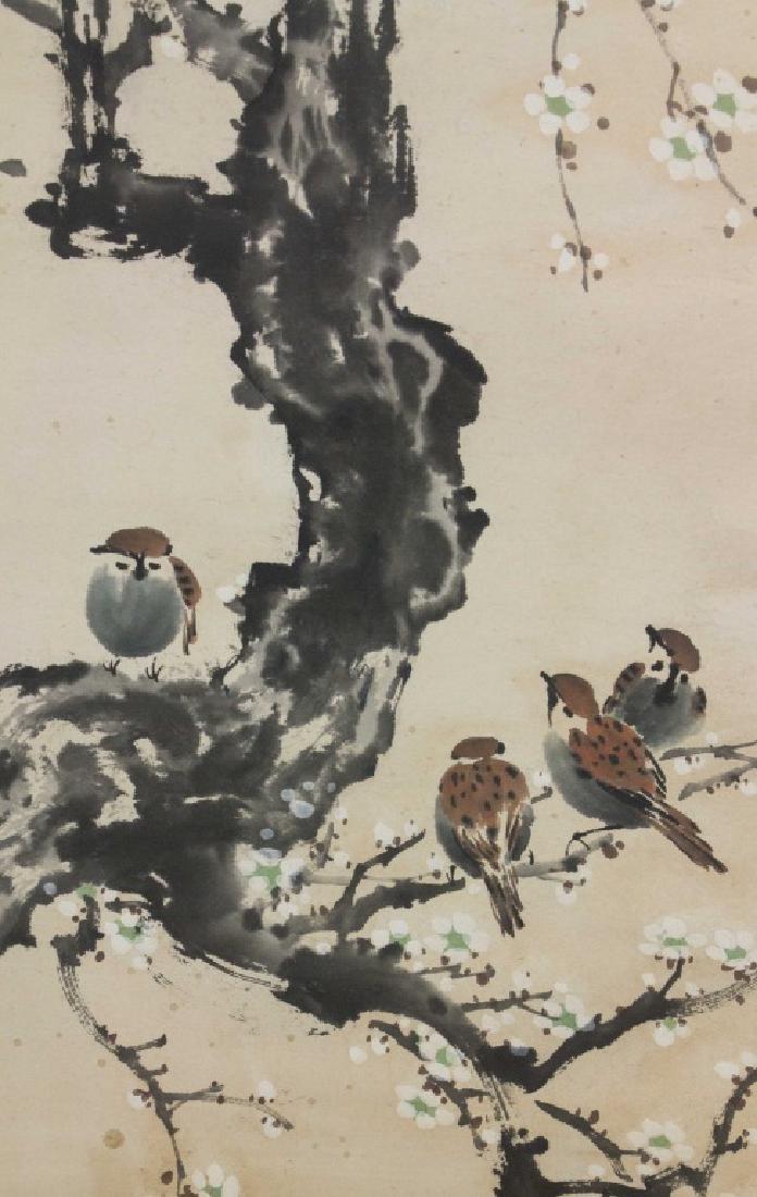 Xu Beihong 1895-1953 Watercolour on Paper Scroll - 4
