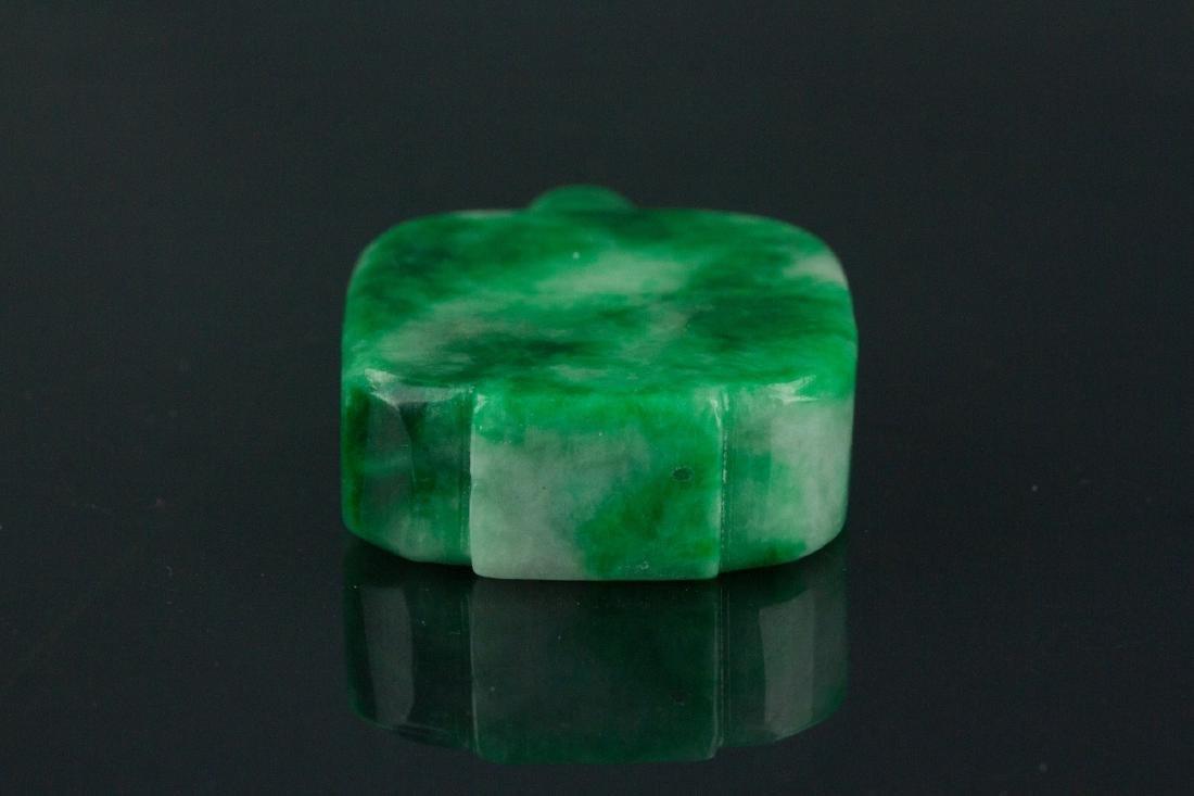 19th Century Chinese Green Jade Snuff Bottle - 5