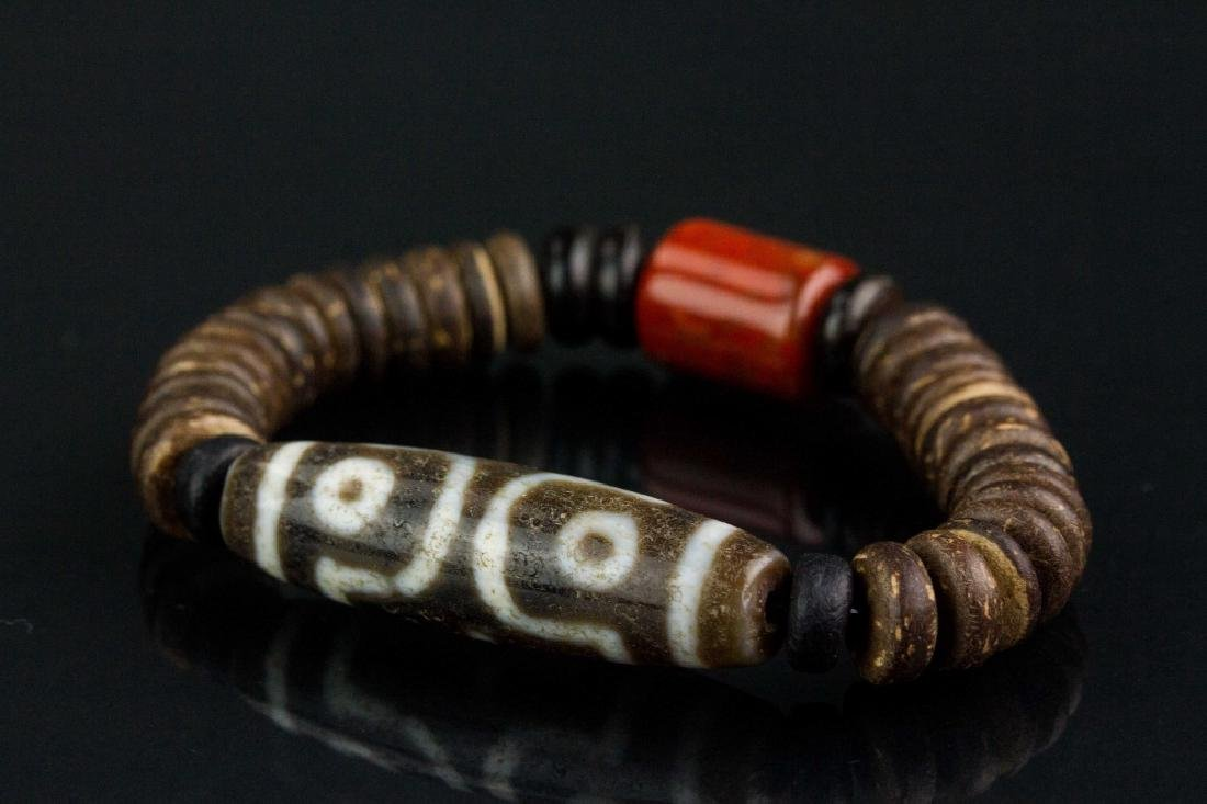 2 PC Assorted Chinese and Tibetan Bracelet - 2