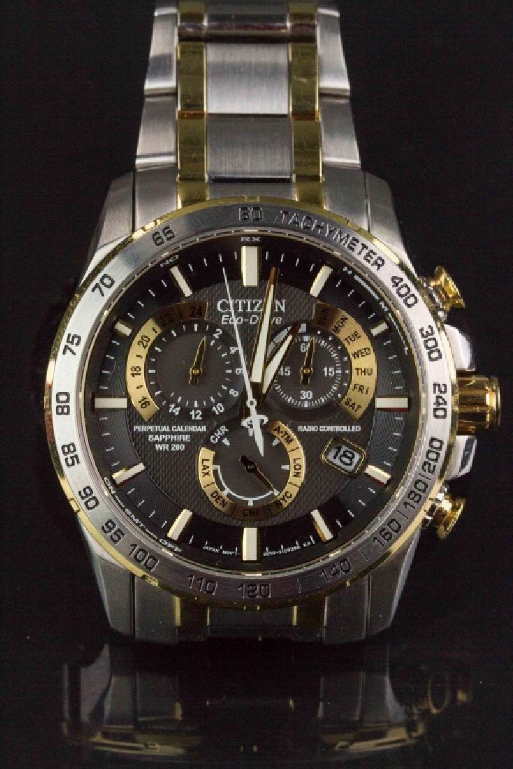 Citizen Eco Drive Perpetual Chronograph Watch