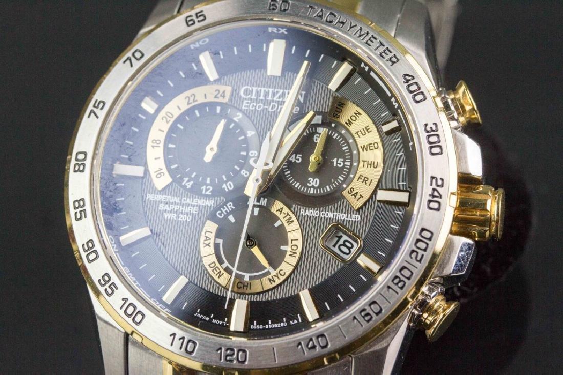 Citizen Eco Drive Perpetual Chronograph Watch - 2