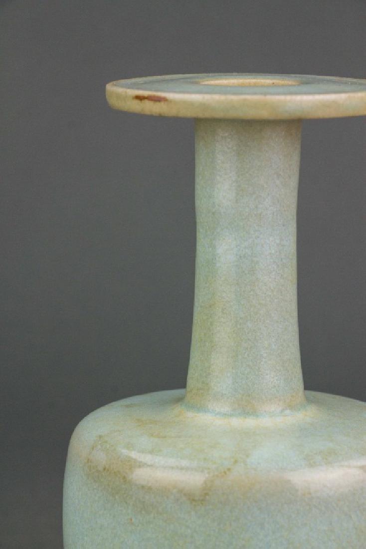 Chinese Guan Type Porcelain Vase - 3