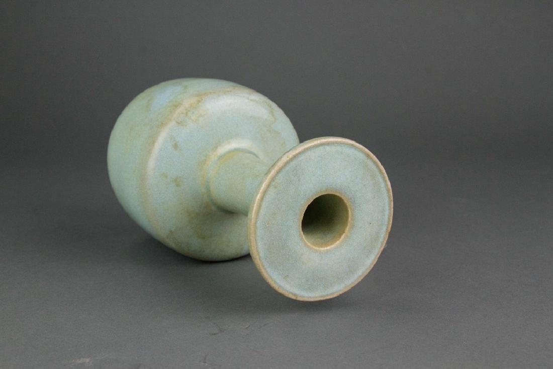 Chinese Guan Type Porcelain Vase - 4