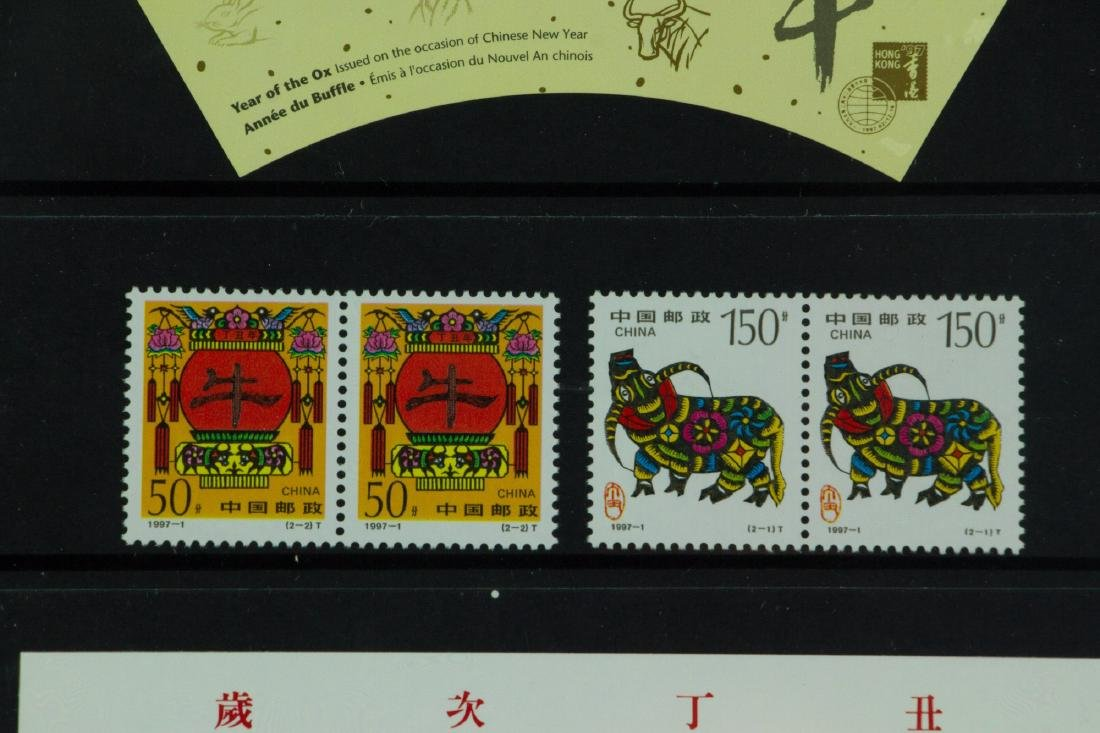 Display Year of Ox Stamps - 3