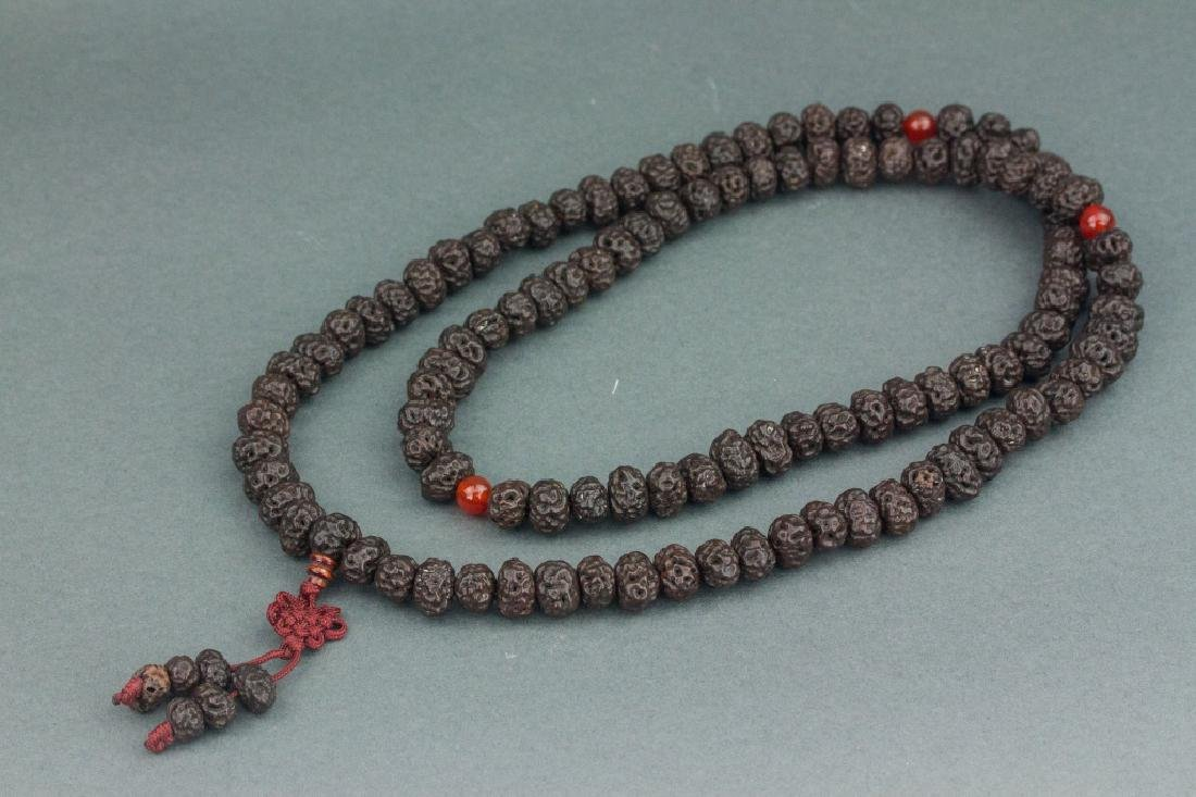 Chinese Bodisu 108 Beads Necklace