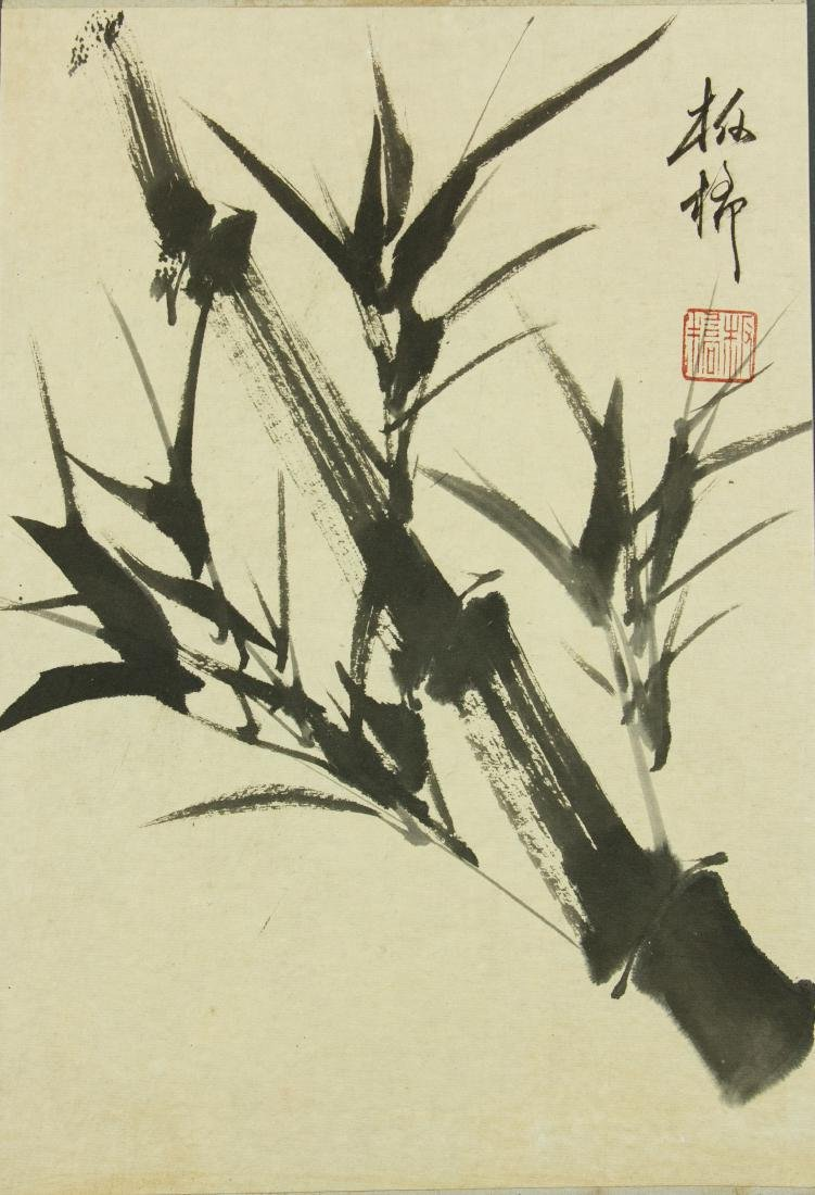 Zheng Banqiao 1693-1766 Chinese Ink on Paper Roll