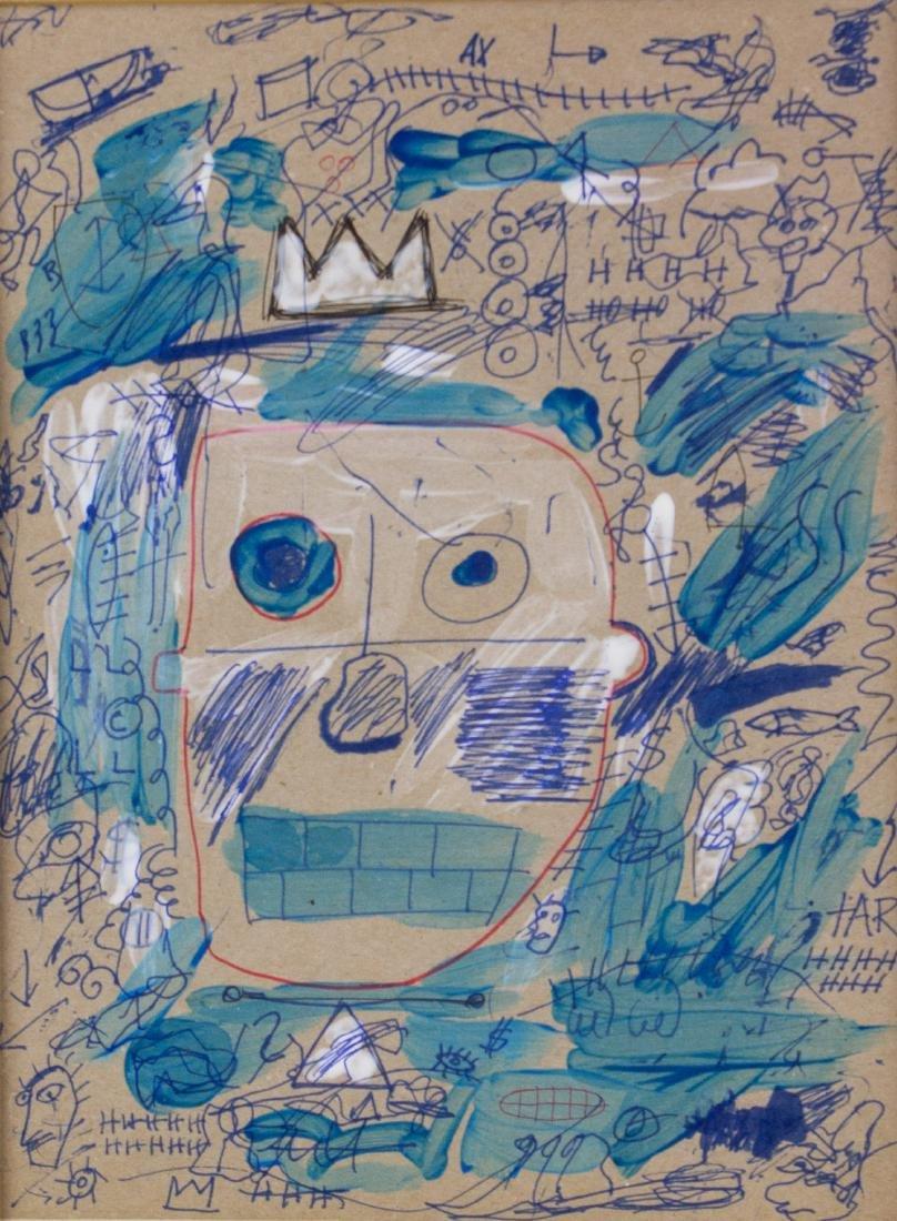 Jean-Michel Basquiat 1960-1988 American MixedMedia