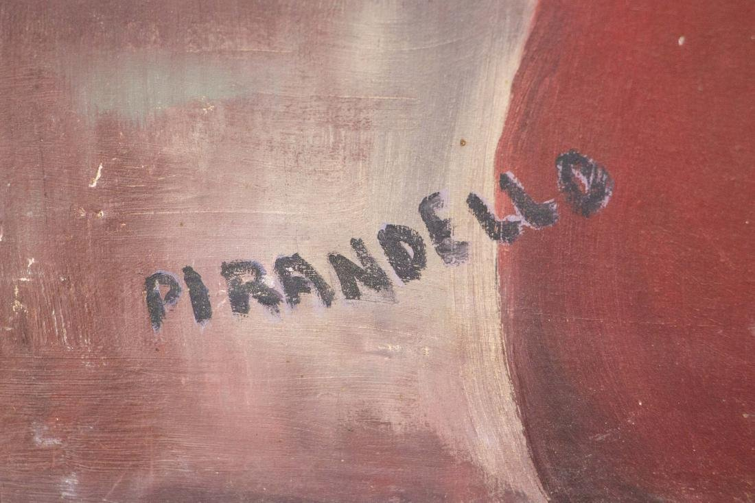 Attr. Fausto Pirandello 1899-1975 Italian OOC - 2