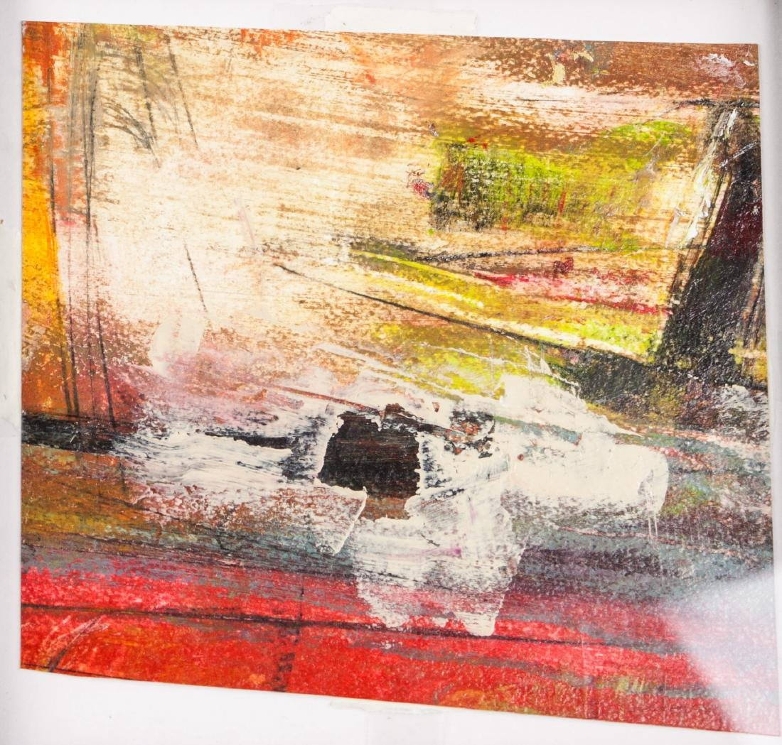Walter Leblanc 1932-1986 Belian Oil Board Framed