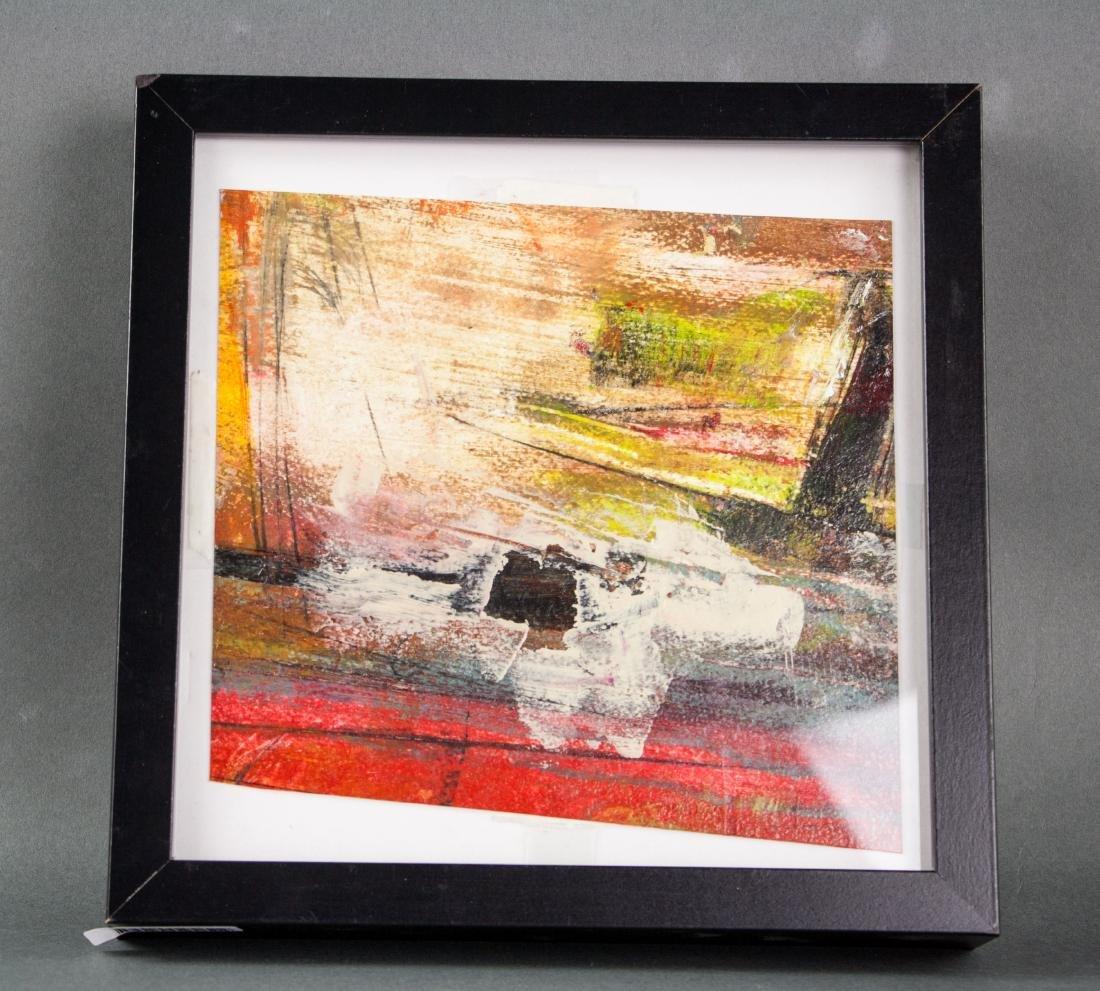 Walter Leblanc 1932-1986 Belian Oil Board Framed - 2