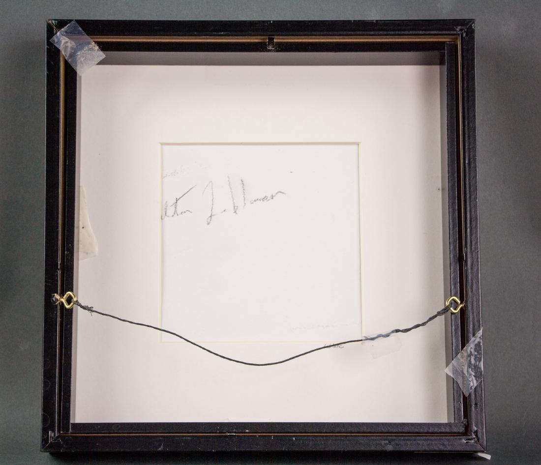 Walter Leblanc 1932-1986 Belian Oil Board Framed - 3