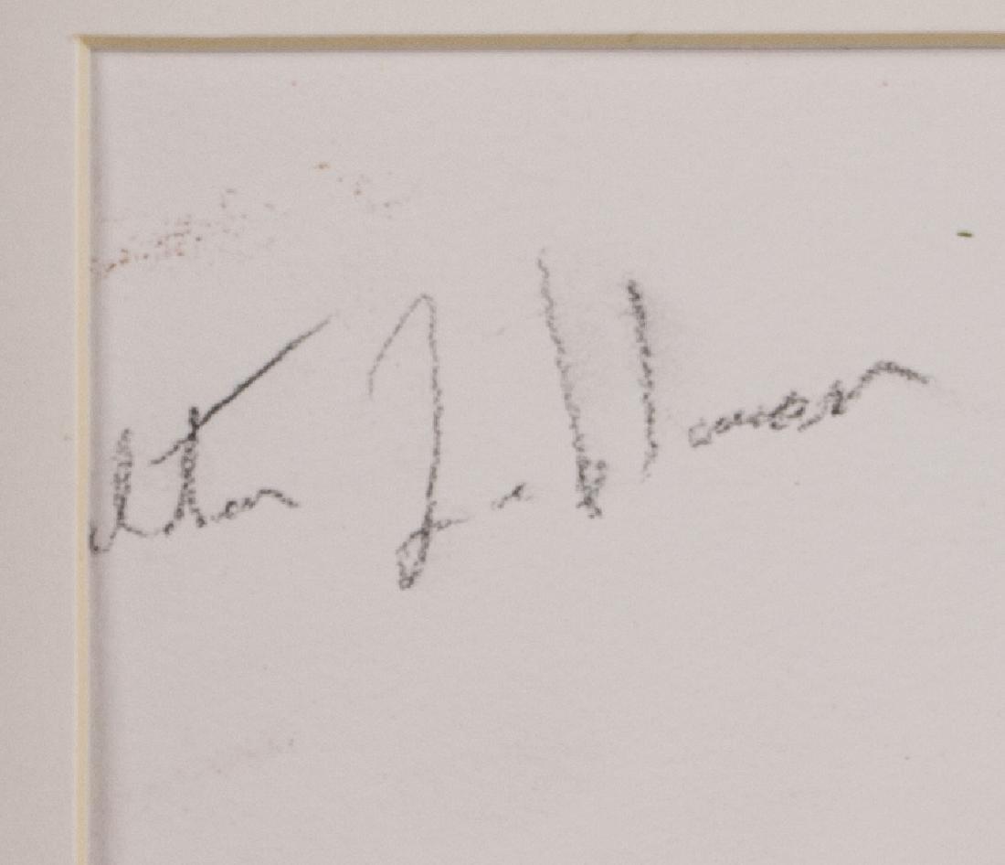 Walter Leblanc 1932-1986 Belian Oil Board Framed - 4