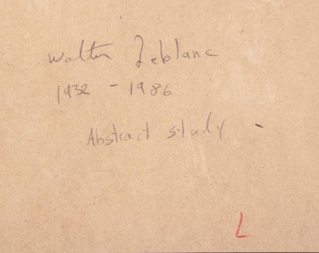 Walter Leblanc 1932-1986 Belian Oil Board Framed - 6