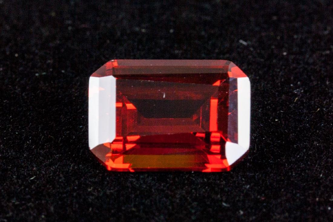 Emerald Cut 29.24 CT Pigeon Blood Red Ruby 18 x 13