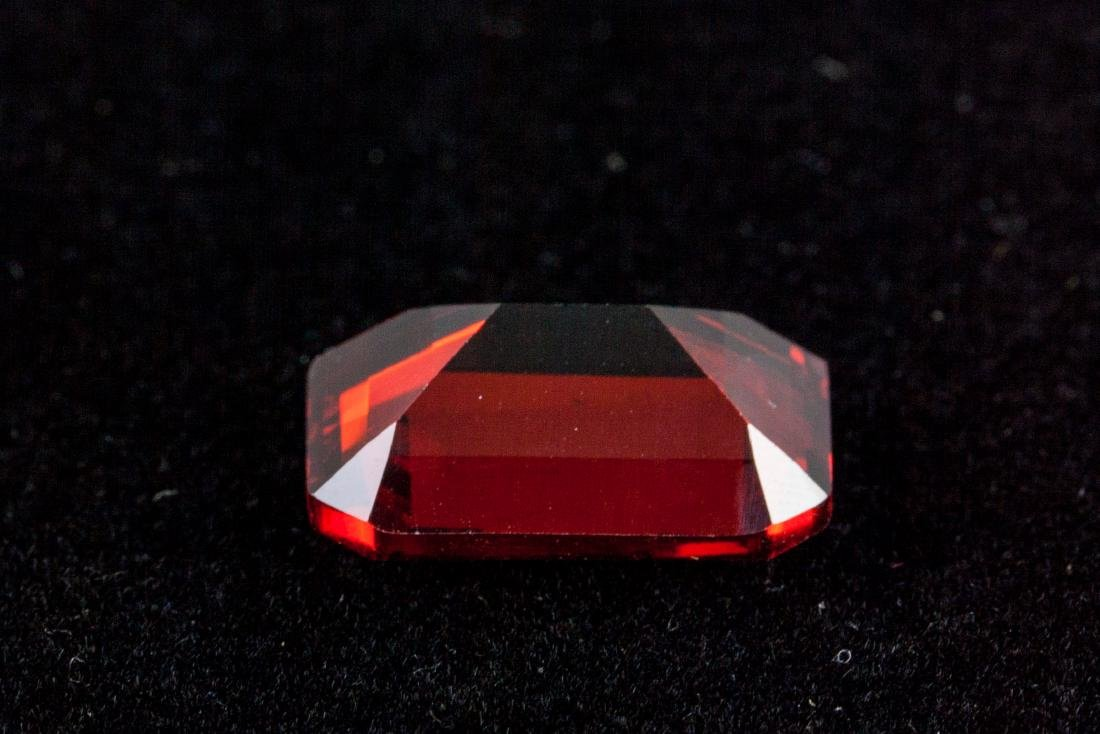 Emerald Cut 29.24 CT Pigeon Blood Red Ruby 18 x 13 - 2