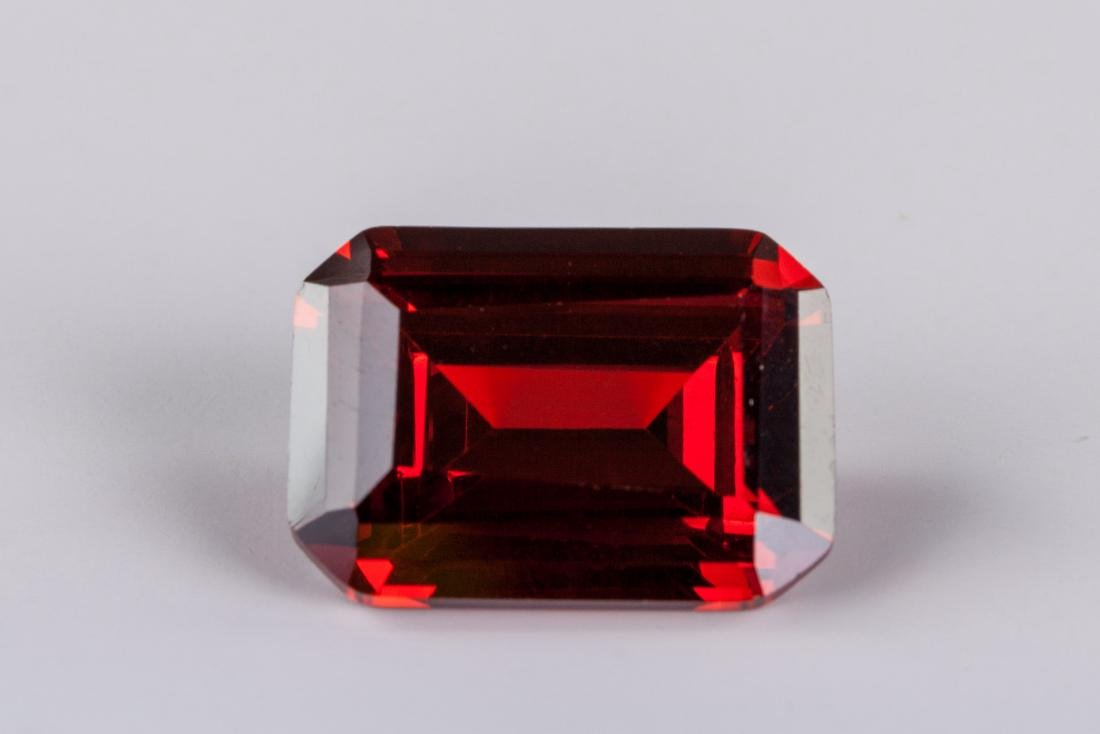Emerald Cut 29.24 CT Pigeon Blood Red Ruby 18 x 13 - 4